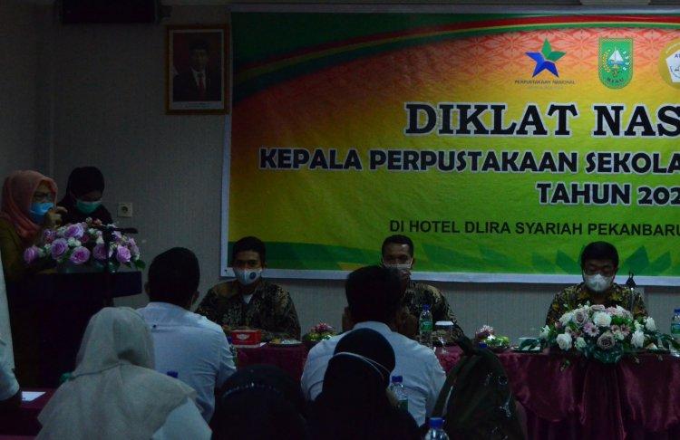 Atpusi Riau Latih 60 Kepala Perpustakaan Sekolah dan Madrasah