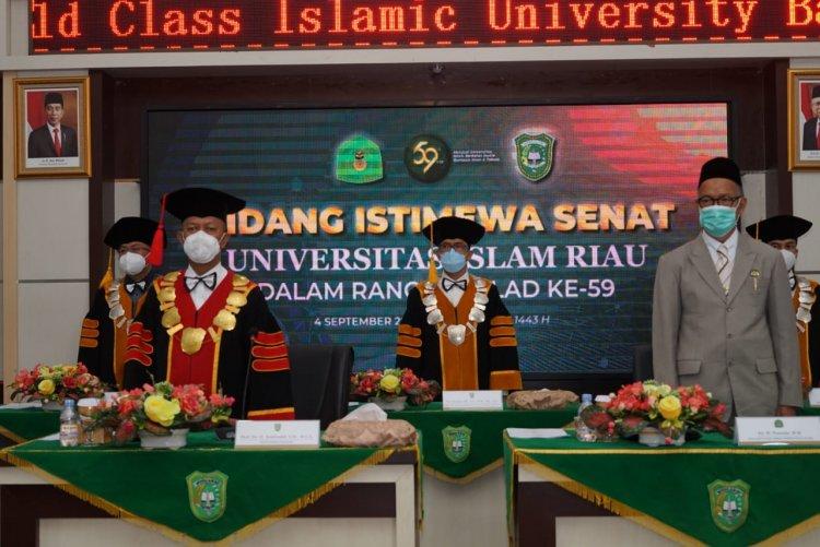 Rektor UIR Dukung YLPI Bangun Rumah Sakit