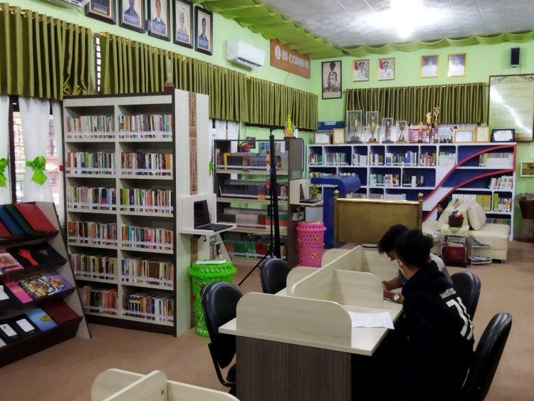 Selamat, Perpustakaan Cahaya Aksara SMAN 5 Pekanbaru Raih Juara Nasional